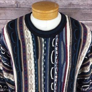 "Cotton Traders Men's XLT ""Coogi"" Crewneck Sweater"